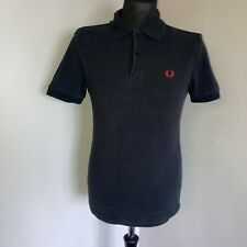 Fred Perry Size XS Polo Shirt Black Fred Perry Polo
