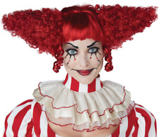 Creepy Clown Wig - Adult Costume Accessory