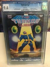 Thanos Quest #1 CGC 9.4 1990 Free Shipping