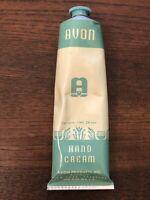 Vintage AVON Metal Tube Hand Cream / Lotion * w/ Contents * 1950's 1960's