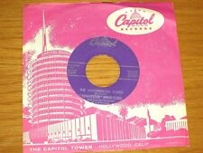 "COUNTRY 45 RPM - ""TENNESSEE"" ERNIE FORD - CAPITOL 3649 - ""THE WATERMELON SONG"""