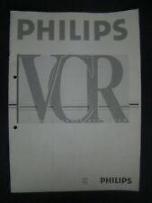 Bedienungsanleitung für Videorecorder Philips VR675