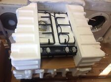 Brand New Boxed Belling ghu60gc Piano Cottura a Gas Nera 4 BRUCIATORI GHISA PAN supporta DD