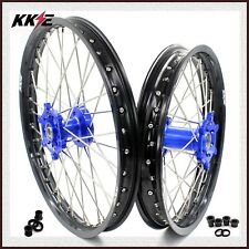 KKE 21/18 Enduro Wheels Set For YAMAHA WR250F 2001-2019 WR450F 2003-2018 CNC Hub