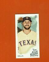 2019 Topps Allen & Ginter Mini Joey Gallo #92 Texas Rangers