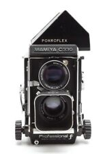 Mamiya 330 TLR Medium Format Camera W/ 80mm f2.8 & Porroflex Prism #31521