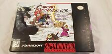 * Super Nintendo * Chrono Trigger * NTSC SNES RARE * With maps & Registration *