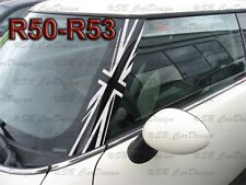 A-pilares Union Jack pegatinas pillar decal F. BMW Mini Cooper r50 r53 one Works
