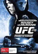 UFC #170 - Rousey Vs McMann (DVD, 2014, 2-Disc Set) Region 4