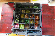 Plano Tackle box with lures, jigs and soft baits