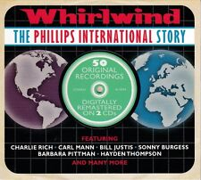 WHIRLWIND - THE PHILIPS INTERNATIONAL STORY - 50 ORIGINALS (NEW SEALED 2CD)
