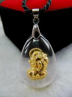 Offer Clasp 999 Pure 24K Yellow Gold & Crystal Lucky Pixiu Pendant