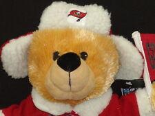 NEW NFL TAMPA BAY BUCCANEERS TEDDY BEAR MASCOT FOOTBALL PLUSTEK ANIMAL FAN TOY