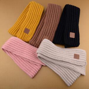 Child Kid Boy Girl Baby Winter Warm KnitNeck Warp Scarf Shawl Neckerchief Gift