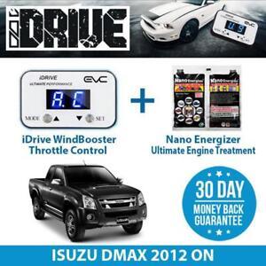 IDRIVE THROTTLE CONTROL for ISUZU DMAX 2012 ON + NANO ENERGIZER AIO