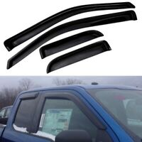 For 2004-2014 Ford F150 Super Cab Sun/Rain Guard Window Visor 4PC F-150