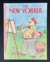 COVER ONLY ~ The New Yorker Magazine, August 27, 1990 ~ William Steig