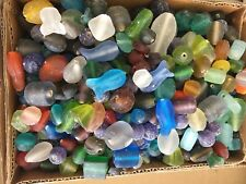Kilo Glass Beads Frosted Mix