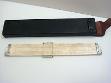 New listing Keuffel Esser Slide Rule with Leather Case #4080-3
