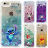 Disney Cartoon Dynamic Liquid Glitter Quicksand Mickey Case For iPhone 6 7 8Plus