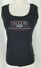 Harley Davidson 105th Anniversary Tank Top Womens Medium Milwauke Wisconsin
