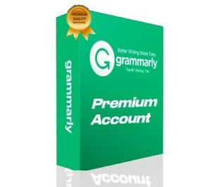 GRAMM ARLY PREMIUM WARRANTY ⚡ FAST DELI VERY 1 MIN ⚡