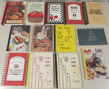 Lot of 13 Community Organization Cookbooks, Recipes, groups auxiliary fire dept