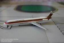 Jet-X Dragon Continental Airlines Douglas MD-82 Red Meatball Diecast Model 1:400
