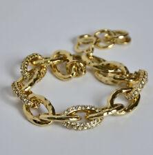 Stella & Dot Christina Link Bracelet gold tone