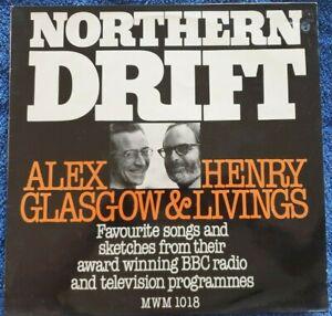 "Alex Glasgow & Henry Livings: Northern Drift 12"" Vinyl LP 1978 Excellent"