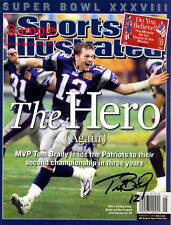 TOM BRADY Signed New England Patriots Autograph Reprint Photo #8