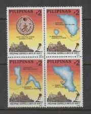 Philippine Stamps 1994 Guerrilla Units of World War II (Third Series) Complete s