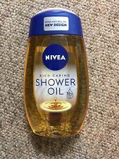 NIVEA Shower Gel Foam Natural Oil 200 Ml Rare And discontinued
