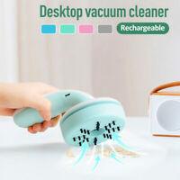 Mini Handheld Vacuum  Office Desk Dust Home Table Sweeper Desktop  R R