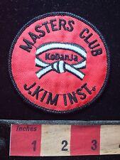 Master's Club KoDanJa Kodanja J. Kim Instructor Martial Arts Patch S73L