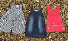 Girls Childrens Clothes Bundle of 3 Dress - Age 2-3 Years
