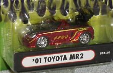 2003 MUSCLE MACHINES '01 Toyota MR2 Import SSTuner #T03-30 Real Riders Red 2001