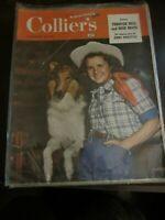 Colliers Magazine November 1948 Lassie Debbie Reynolds Amazing Jimmy Doolittle