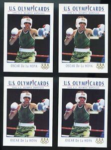 OLYMPICS 4 LOT 1992 IMPEL OSCAR DE LA HOYA RC ROOKIE CARD PACK FRESH MINT 92 USA
