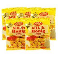(1,79 EUR/100 g) 5x 100g Milch Honig Bonbons Honigbonbons