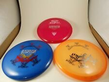 New ListingLot Of 3 New Gateway Disc Golf Diamond VooDoo Putter Discs X-Out
