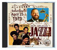 THE METERS and AL HIRT shows, the 1970 New Orleans Jazz Fest, LIVE on CD