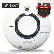 FIREANGEL WST-630T Lithium Battery WIRELESS Interlink Smoke Fire Alarm 2028 NEW