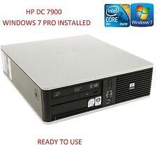 HP DC7900 Fast Cheap Core 2 Duo 3.0GHz 4GB 250GB Home Office PC WiFi Windows 7