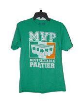 Irish Ireland Beer Pong T-shirt Medium Men New St Patricks Day