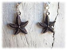 Ohrringe Seestern  - Ohrhänger im Vintage Stil starfish surfer beach Meer Strand