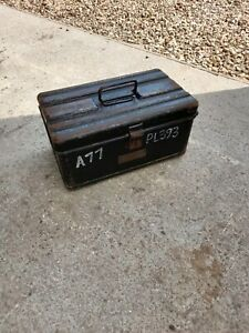 MILITARY/ARMY ENGINEERS TOOLBOX 1920's/30's ( ideal for the Goodwood Revival!!).