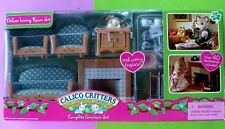 2009 EPOCH CALICO CRITTERS LIVING ROOM FURNITURE SET NIB