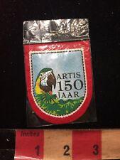 Tropical Bird ARTIS 150 JAAR Patch - Woven Front Red Felt Back 86E9