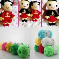 26 Colours Knitting Milk Cotton Wool Baby Children Soft Crochet Knit Yarn. au